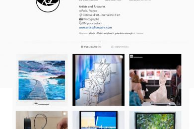 Artistsflowparis – Critique d'art, Journaliste d'art – Instagram