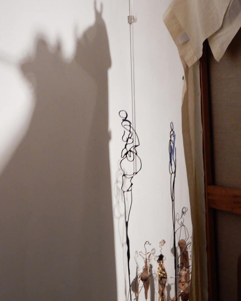 Jeux d'ombres dans l'atelier