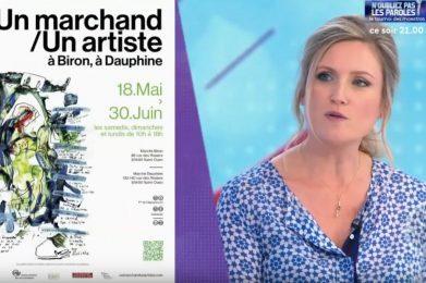 Reportage 1 Marchand, 1 Artiste 2019 (Amimono troisième artiste présenté) diffusé sur Télématin, par Mélanie Griffon