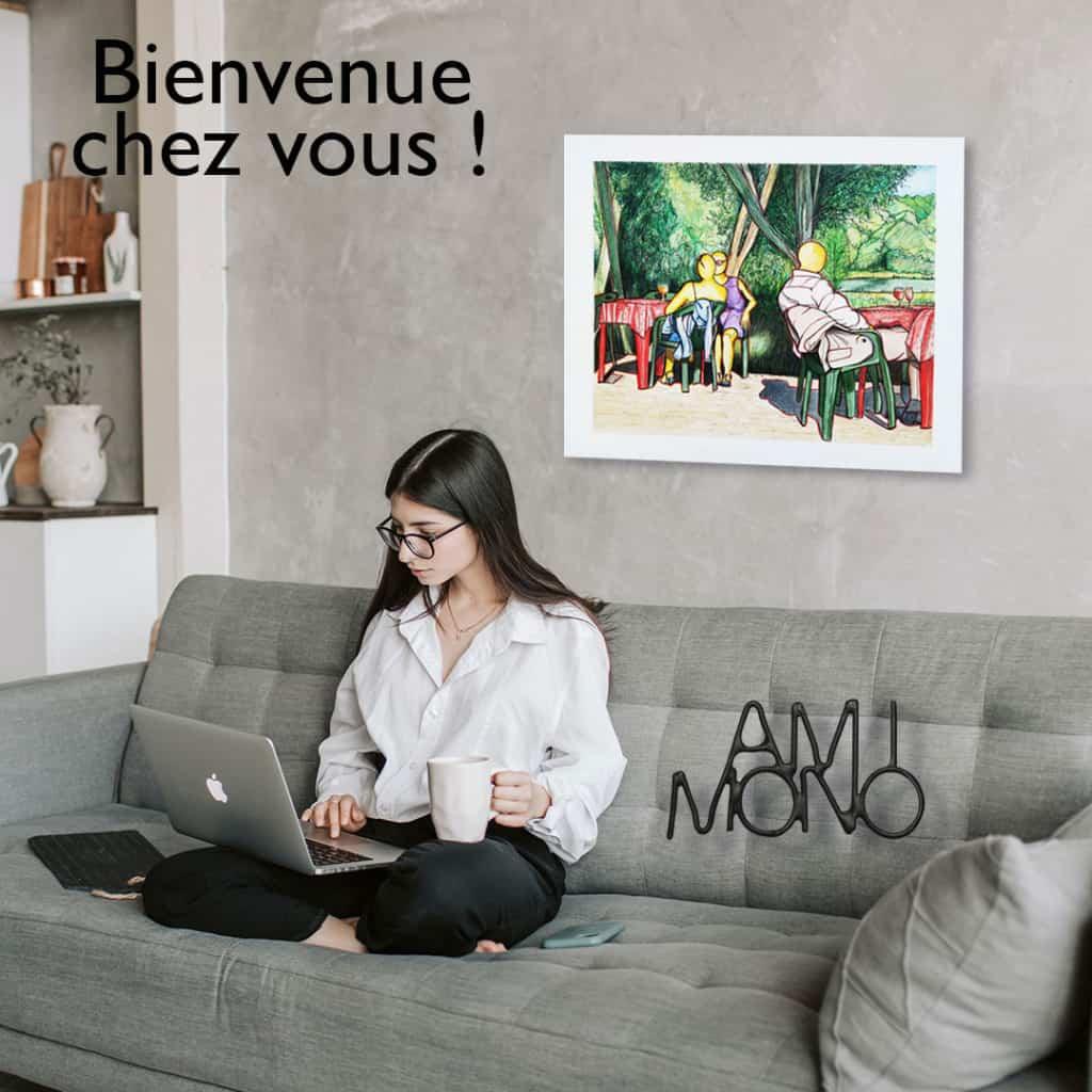 amimono-bien chez vous - peinture